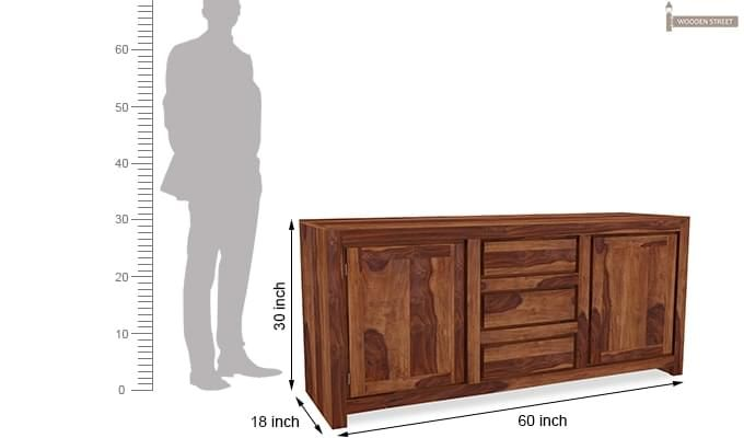 Warrican Sideboard (Teak Finish)-8