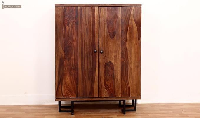 Zimer Cabinet (Teak Finish) -5