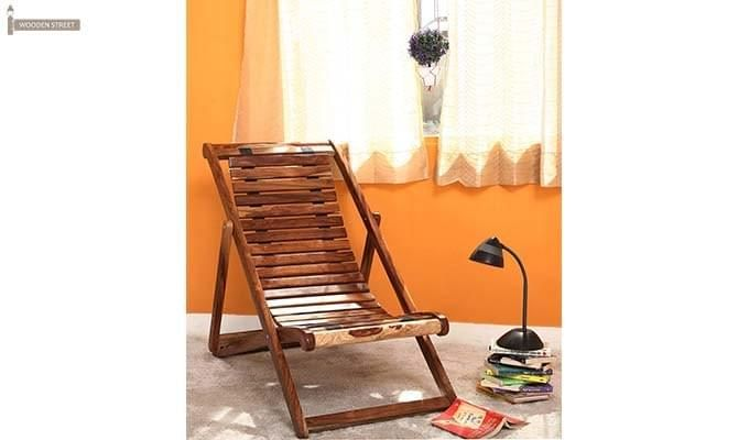 Bosco Wooden Chair (Teak Finish)-1