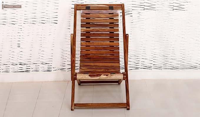 Bosco Wooden Chair (Teak Finish)-3