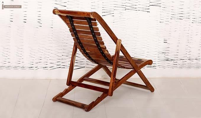 Bosco Wooden Chair (Teak Finish)-5
