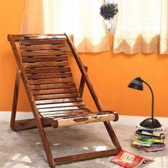 Bosco Wooden Chair (Teak Finish)