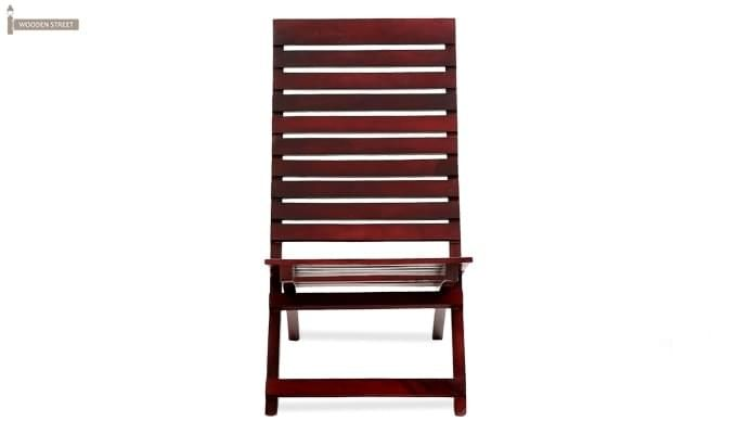Bristal Wooden Balcony chair (Mahogany Finish)-2