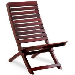 Bristal Wooden Balcony chair (Mahogany Finish)