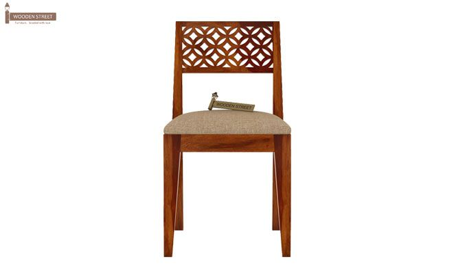 Cambrey Study Chair (Honey Finish)-2