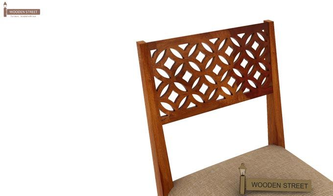 Cambrey Study Chair (Honey Finish)-3