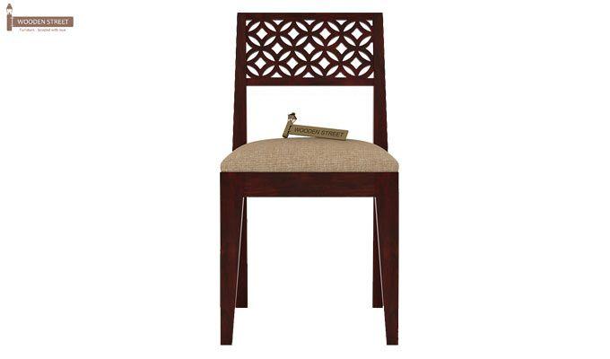 Cambrey Study Chair (Mahogany Finish)-2
