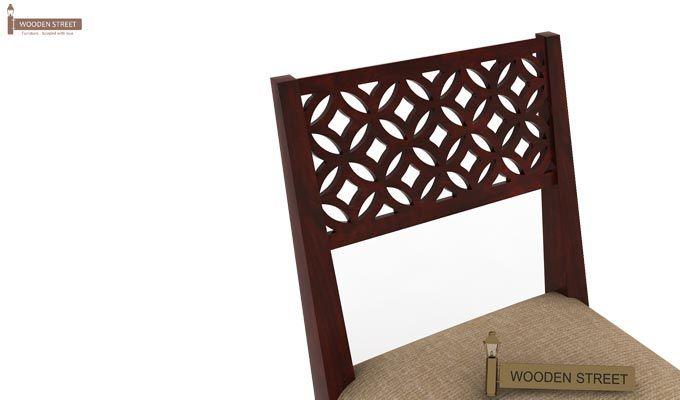 Cambrey Study Chair (Mahogany Finish)-3