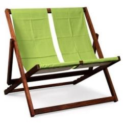 Clairon Double Seater Balcony Chair (Honey Finish)