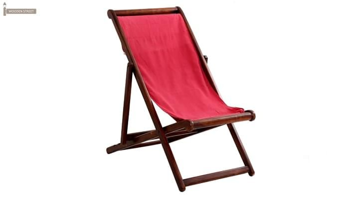 Clairon Single Seater Balcony chair (Mahogany Finish)-1
