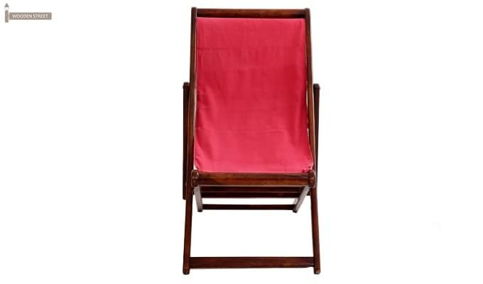 Clairon Single Seater Balcony chair (Mahogany Finish)-2