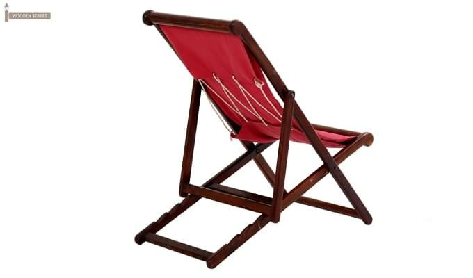 Clairon Single Seater Balcony chair (Mahogany Finish)-4