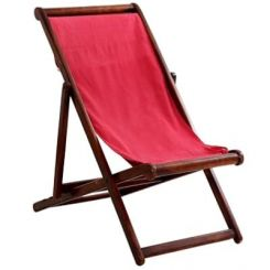Clairon Single Seater Balcony chair (Mahogany Finish)
