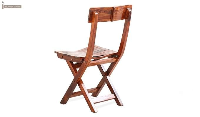 Kirby Folding Balcony chair (Honey Finish)-6