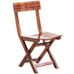 Kirby Folding Balcony chair (Honey Finish)