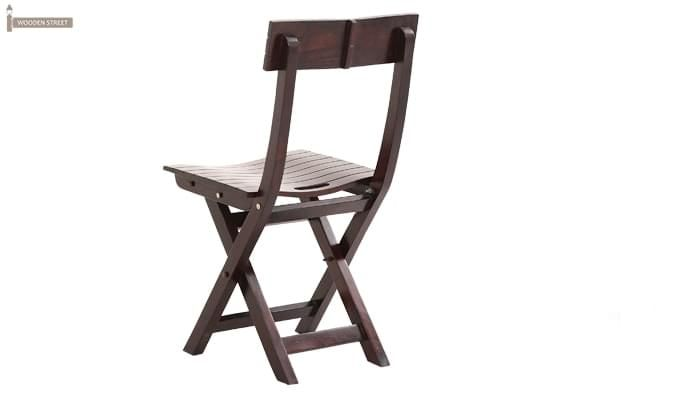 Kirby Folding Balcony chair (Walnut Finish)-5