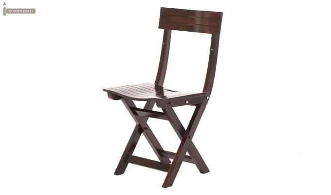 Kirby Folding Balcony chair (Walnut Finish)-6