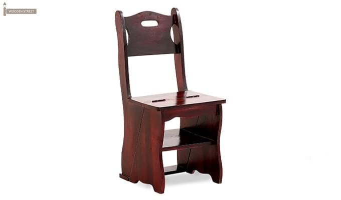 Ladbury Folding Chair (Mahogany Finish)-1