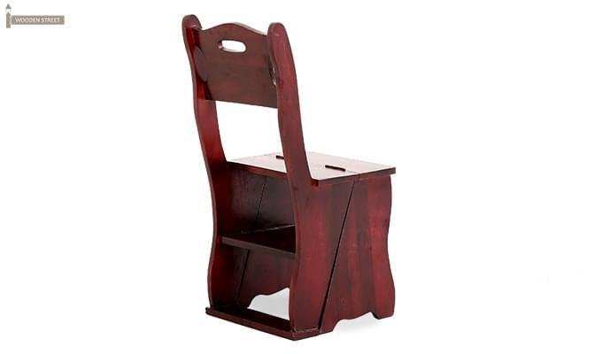 Ladbury Folding Chair (Mahogany Finish)-4