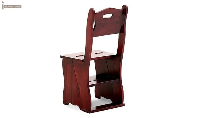 Ladbury Folding Chair (Mahogany Finish)-5
