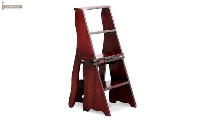 Ladbury Folding Chair (Mahogany Finish)-6