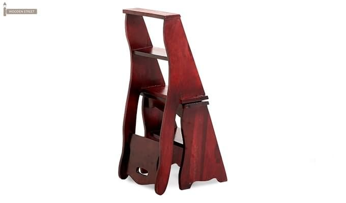 Ladbury Folding Chair (Mahogany Finish)-7
