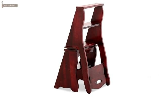 Ladbury Folding Chair (Mahogany Finish)-8