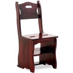 Ladbury Folding Chair (Mahogany Finish)