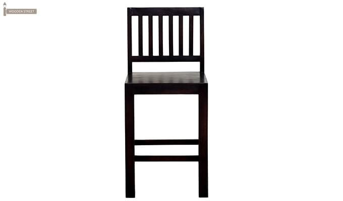 Neel Bar Chair (Mahogany Finish)-3