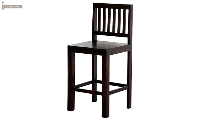 Neel Bar Chair (Mahogany Finish)-4