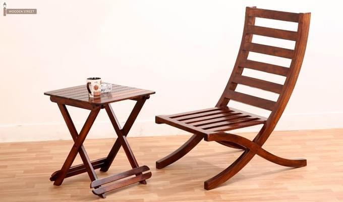 Novelo Balcony chair (Teak Finish)-2