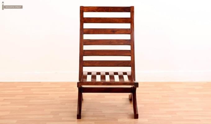 Novelo Balcony chair (Teak Finish)-4