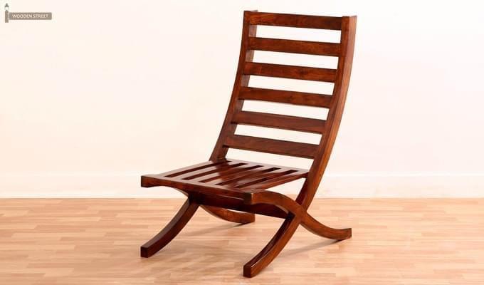 Novelo Balcony chair (Teak Finish)-5