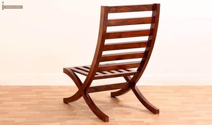 Novelo Balcony chair (Teak Finish)-7