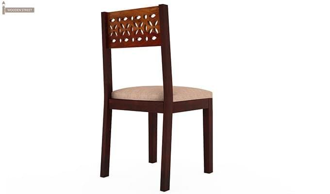 Pacino Study Chair (Honey Finish)-4
