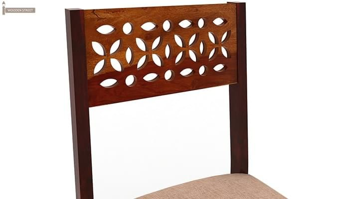 Pacino Study Chair (Honey Finish)-5