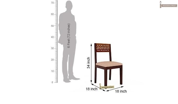 Pacino Study Chair (Honey Finish)-6