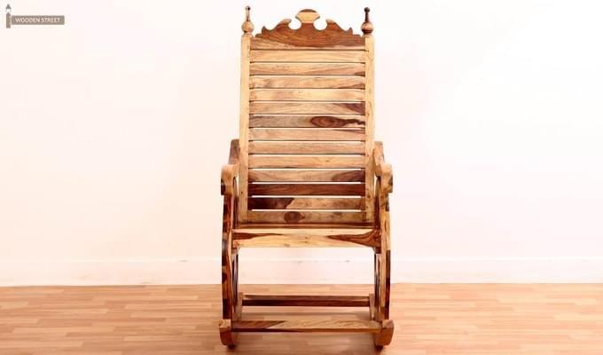 Silvio Rocking Chair (Natural Finish)-2