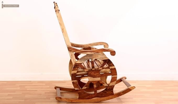 Silvio Rocking Chair (Natural Finish)-4