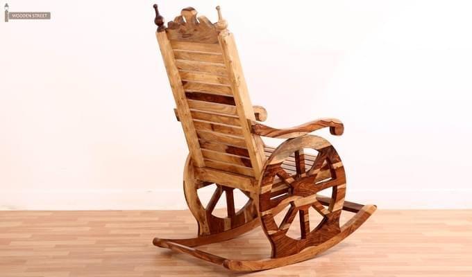 Silvio Rocking Chair (Natural Finish)-5