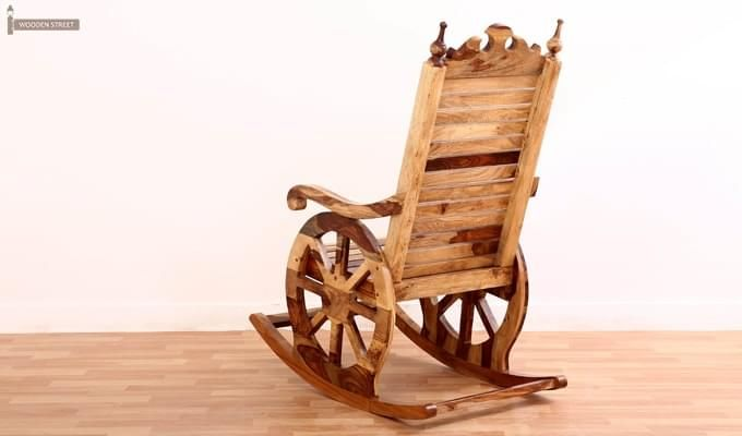 Silvio Rocking Chair (Natural Finish)-6