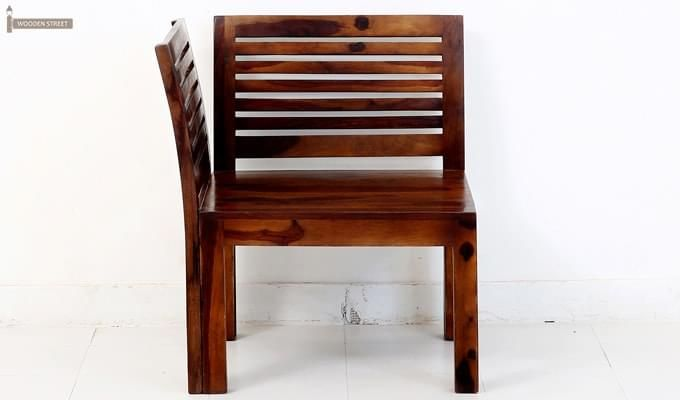 Vettel Rocking Chair (Teak Finish)-2