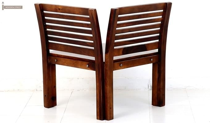 Vettel Rocking Chair (Teak Finish)-4