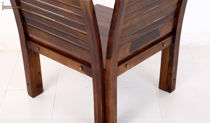 Vettel Rocking Chair (Teak Finish)-5