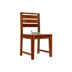 Zampa Dining Chair (Honey Finish)