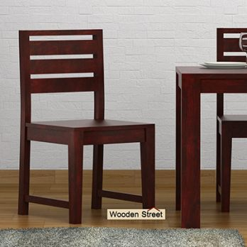 Comfortable Wooden Dining Chairs in India