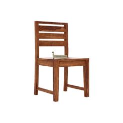 Zampa Dining Chair (Teak Finish)