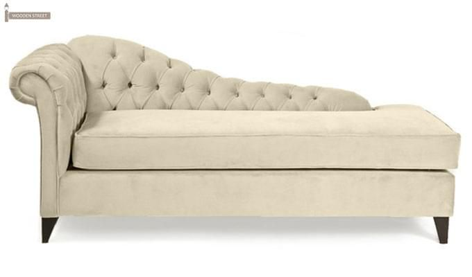 Begonia Chaise Lounge (Cream)-1