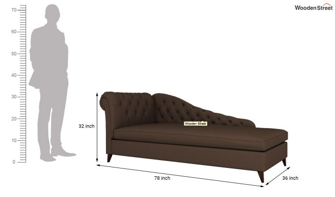 Begonia Chaise Lounge (Classic Brown)-5