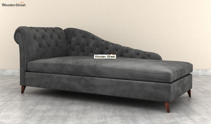 Begonia Chaise Lounge (Graphite Grey)-2